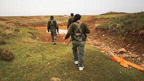 SYRIA-ISIS-WAR Immagini Stock