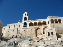 Syria, the monastery Safyta Royalty Free Stock Image