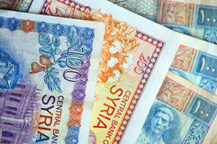 Syria notes (paper money) Royalty Free Stock Images