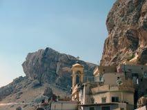 Syria, o monastério de St. Thekla Fotografia de Stock