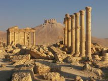 Syria palmyra Zdjęcie Royalty Free