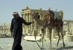 SYRIA PALMYRA ROMAN RUINS Stock Photo