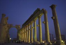 SYRIA PALMYRA ROMAN RUINS Royalty Free Stock Photo