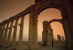 SYRIA PALMYRA ROMAN RUINS Royalty Free Stock Photos