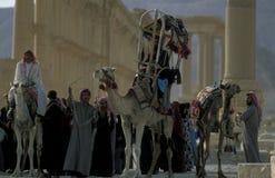 SYRIA PALMYRA ROMAN RUINS Stock Photos