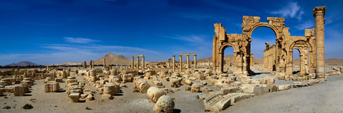 Syria . Palmyra. Stock Photos