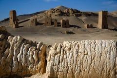Syria . Palmyra. The ruins of the ancient city Palmyra Royalty Free Stock Photos