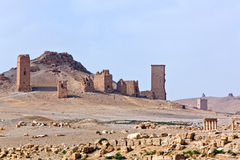 Syria - Palmyra (Tadmor) Stock Photography