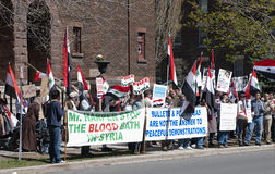 Syria Protests Stock Photo