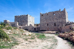 Syria - Saladin Castle (Qala'at Salah ad Din) Royalty Free Stock Image
