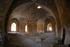 Syria - Saladin Castle (Qala'at Salah ad Din) Royalty Free Stock Images