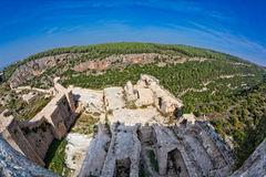 Syria - Saladin Castle (Qala'at Salah ad Din) Stock Image