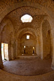 Syria - Saladin Castle (Qala'at Salah ad Din) Royalty Free Stock Photography
