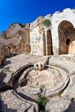 Syria - Saladin Castle (Qala'at Salah ad Din) Stock Photo