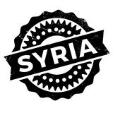 Syria stamp rubber grunge Royalty Free Stock Images