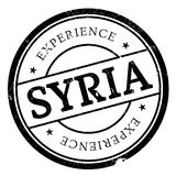 Syria stamp rubber grunge Royalty Free Stock Photo
