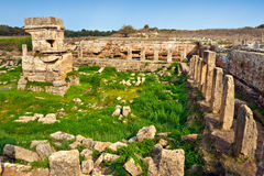 Syria - Tartus ancient place Amrit Stock Photo