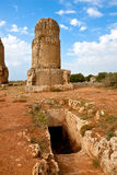 Syria - Tartus ancient place Amrit Stock Image