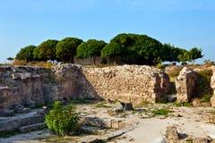 Syria - Ugarit ancient site near Latakia Royalty Free Stock Image