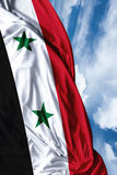 Syria waving flag on a beautiful day Royalty Free Stock Photography
