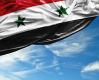 Syria waving flag on a beautiful day Stock Photography