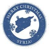 Syrian Arab Republic map. Royalty Free Stock Photography