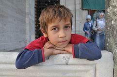 Syrian child Royalty Free Stock Photography