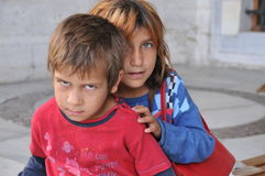 Syrian children Stock Photo