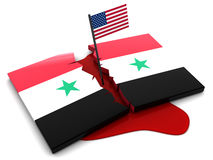 Syrian conflict Royalty Free Stock Photo