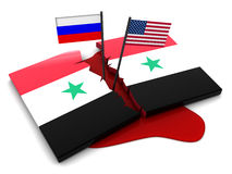 Syrian conflict Stock Photography