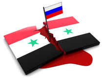 Syrian conflict Royalty Free Stock Images