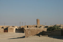 Syrian desert village. Typical village in the syrian desert royalty free stock images