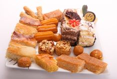 Syrian Desserts royalty free stock images