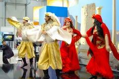 Syrian folk dancers at TT Warsaw Stock Images