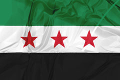 Syrian National Coalition Flag Royalty Free Stock Photography
