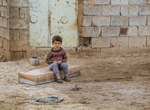 Syrian orphan Royalty Free Stock Image