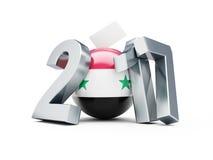 Syrian presidential election 2017 Royalty Free Stock Photos