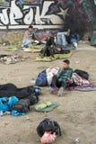 Syrian refugees Royalty Free Stock Image