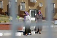 Syrian refugees Bulgaria Stock Photo