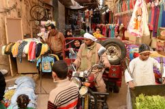 Syrian Refugees. In Egypt fleeing the Syrian Cival war Royalty Free Stock Photo