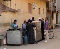 Syrian Refugees. In Egypt fleeing the Syrian Cival war Royalty Free Stock Photography
