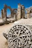 Syrian ruins of old castle not so far from Latakia Stock Photography