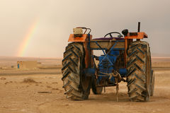 Syrian tractor Royalty Free Stock Photos