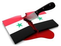 Syrian war Stock Image