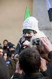Syrians-Protest Stockfotos