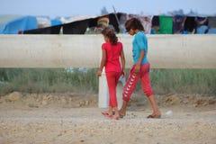 Syrianska flickor Royaltyfri Fotografi