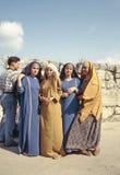 Syrianska kvinnor Royaltyfri Bild