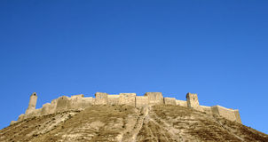 Syrien. Crac des-Chevaliers (Qal'at Royaltyfria Foton