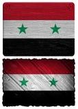 Syrien flagga Royaltyfri Fotografi