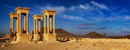 Syrien Palmyra Stockfotos